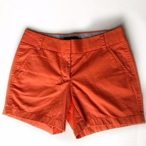 "J Crew Chino Shorts 5"" Inseam"